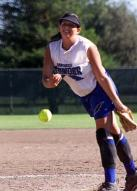 Karla Wilburn helping pitch San Diego Thunder to a 14U ASA Class A National Championship, 2001